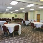 Best Western Merry Manor Inn Conference Room With Circular Tables